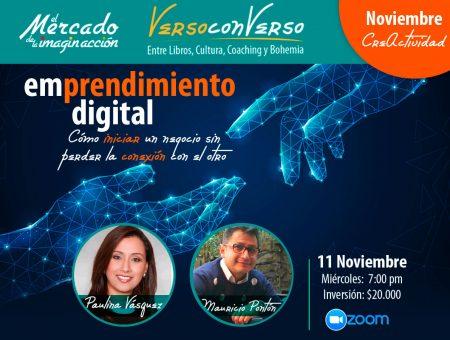 Verso Converso: Emprendimiento digital. Charla con Maria Paulina Vásquez