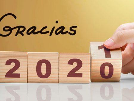 Gracias 2020, bienvenido 2021